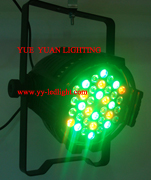 par 64 led light 5 watt 36 leds rgbw