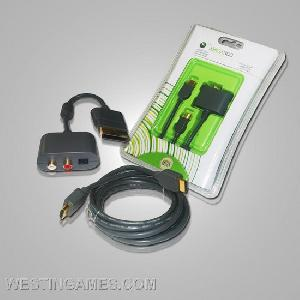 1080p hdmi connection av cable digital audio xbox 360