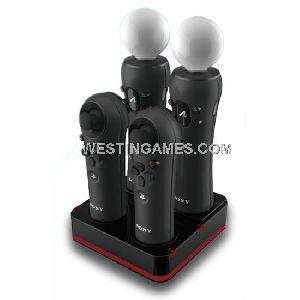 1x4 controller charger station charging stand ps3