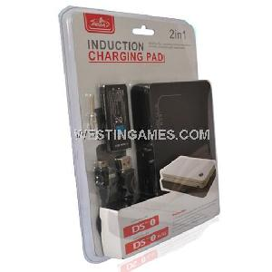 ndsi ndsii ll xl 2in1 induction charging pad