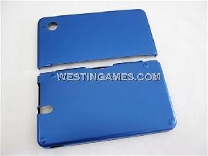 protective aluminum case inner cloth ndsi ll xl blue