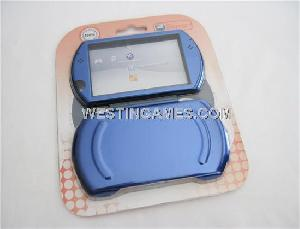 protective aluminum case inner cloth psp blue