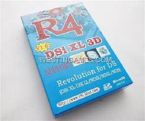 r4i ndsi ll 3d v1 4 1 blue packing nds ds lite dsi xl