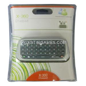 xbox360 messenger chatpad keyboard refurnished