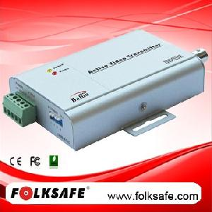 1 ch active video transmitter fs 4401sl utp cat5e 6 cable