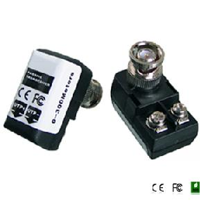 1 ch passive video balun transceiver bnc connector