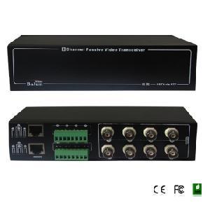 8 ch passive video balun fs 4608sr surge protector