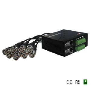 8 ch passive video balun 60cm coax jumper fs 4608sriii utp cat5e tramsmitter
