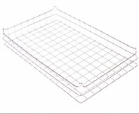 304 stainless steel non stacking wire tray