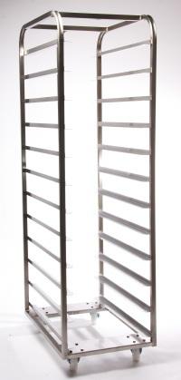 shelf stainless steel bakery rack