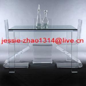 ice acrylic dining