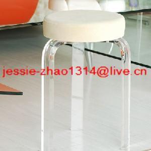 plexiglass acrylic stools