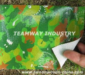pp nonwoven fabric colorful laminating