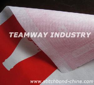 Rpet Stitchbond Nonwoven Fabrics From Water Bottle Flakes