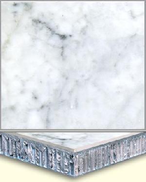 marble porcelain composite tile aluminum honey comb soleplate