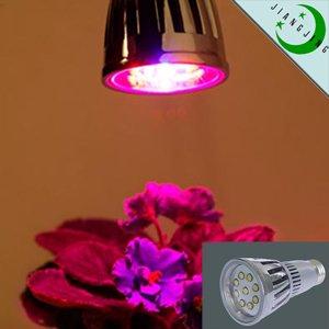 10w e27 spot plant grow light lamp