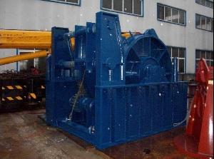 45t hydraulic towing winch