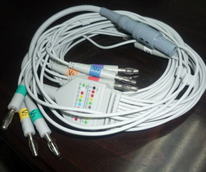 welch allyn cpr un ub d pro ecg cable 10 leads