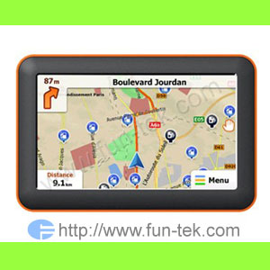 5 0 gps navigation bluetooth mp3 av fm 2009 map 2gb