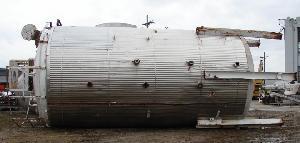 21 000 gallon stainless steel tank