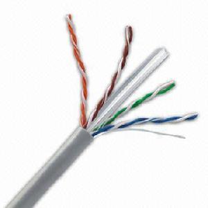 cat6 cable pvc lszh jacket 73 2pf 100m static electric