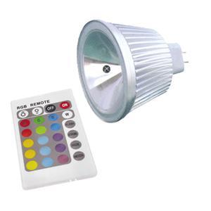 12v 5w rgb mr16 led spotlight bulb