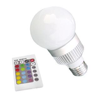 5w rgb led light bulb