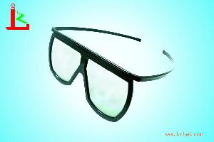 plastic linear polarized 3d glasses frame