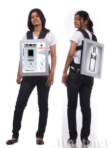 17inch backpack lcd advertising player