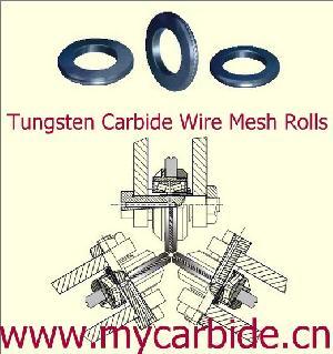 tungsten carbide wire mesh rolls