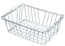 autoclave stainless steel basket