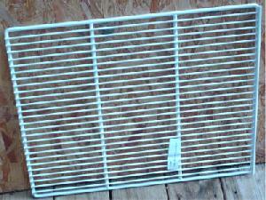 epoxy coated shelf