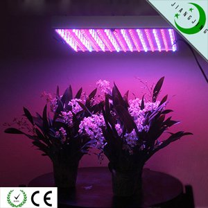 225 led 14w hydroponic plant grow light panel blue