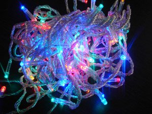 multicolour led light christmas holiday