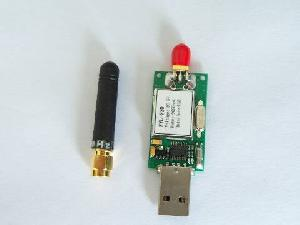 wireless radio control transmitter 433mhz ism band usb interface short ranges 100kbps