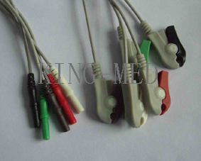 d 5 ecg leadwire clip