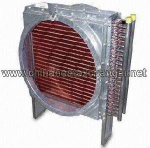 finned fan heat exchanger