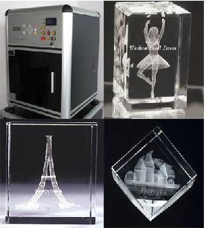 moveable compartable crystal engraving machine