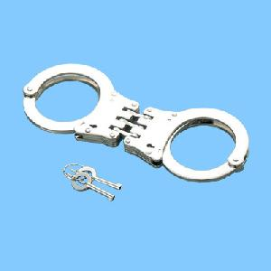 sh th nickel plated handcuff