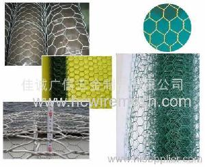 hexagonal wire netting steel electric galvanizing dip zinc plating stainless pv