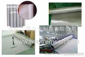 inless steel wire mesh electric galvanizing dip zinc plating stainless pvc