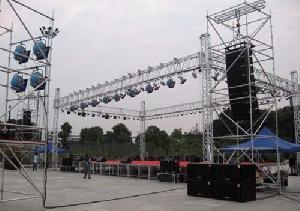 aluminium alloy stage truss project