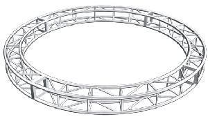 circle aluminium truss