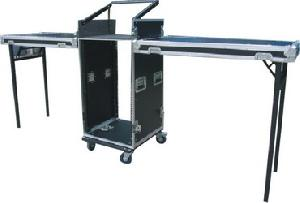 pop up mixer rack case dj table legs
