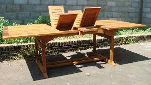 rect ext outdoor table