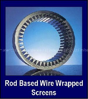 rod base wire wrap screen slot