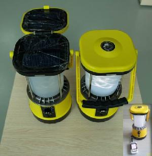 portable solar lantern
