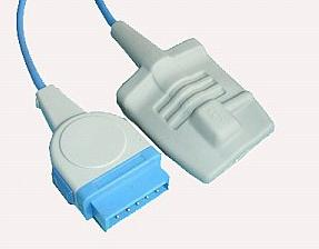 ge adult silicone soft tip spo2 sensor b022