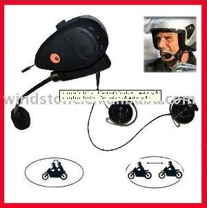motorcycle interphone headset