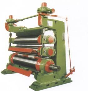 calender four rollers paper machine cutting
